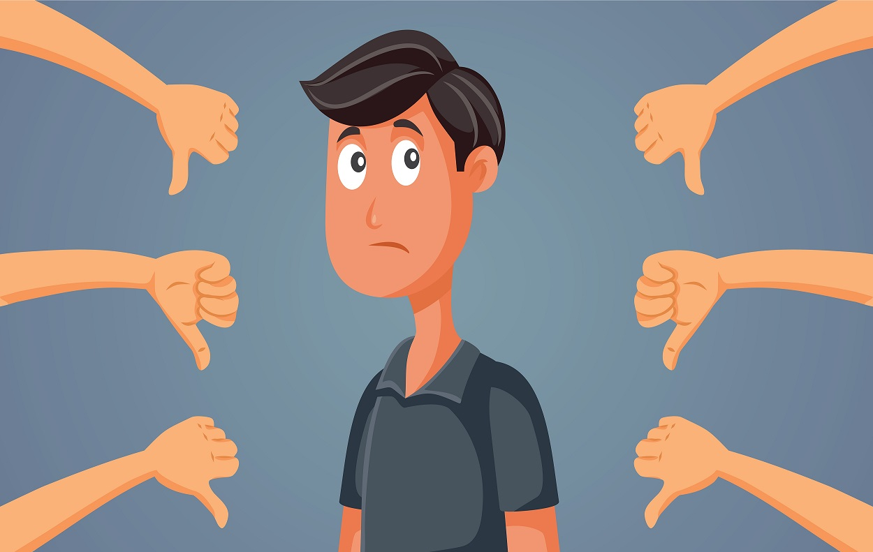 Negatiivinen omanarvontunto estää näkemästä omia vahvuuksia